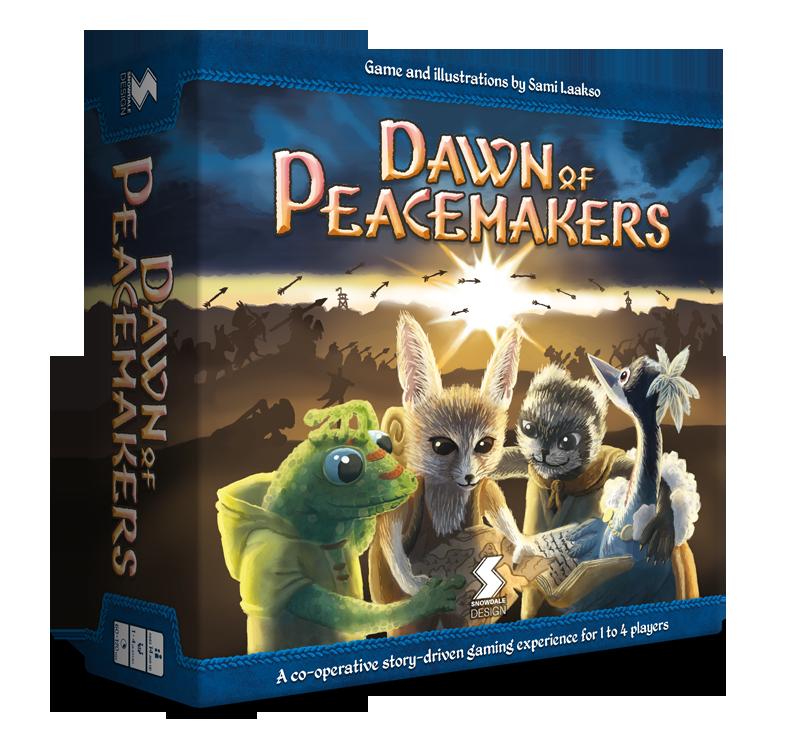 Dawn of Peacemakersin kansi