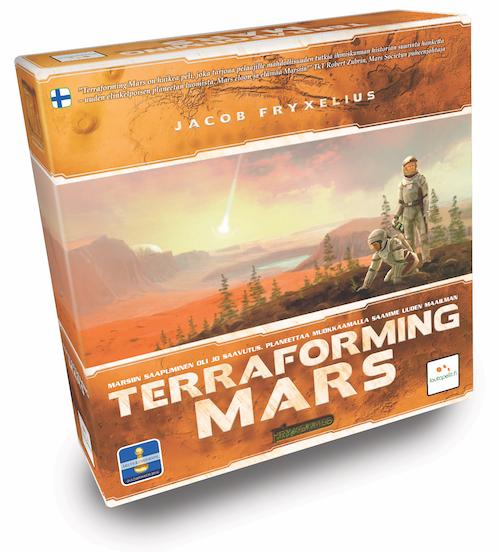 Terraforming Marsin kansi
