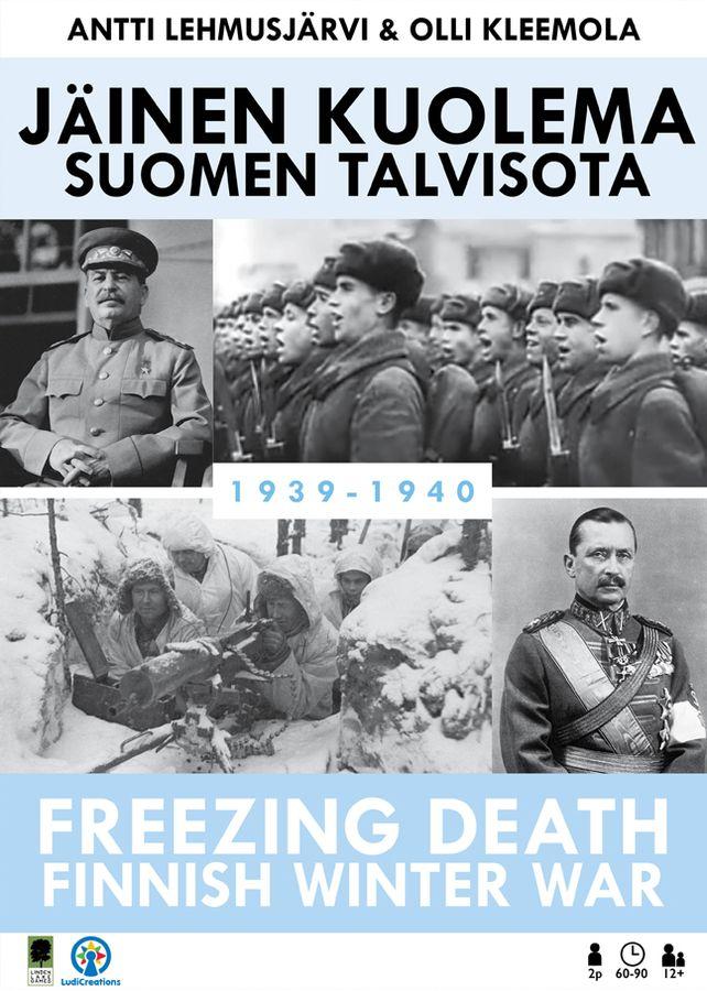 Jäinen kuolema: Suomen talvisota -pelin kansi