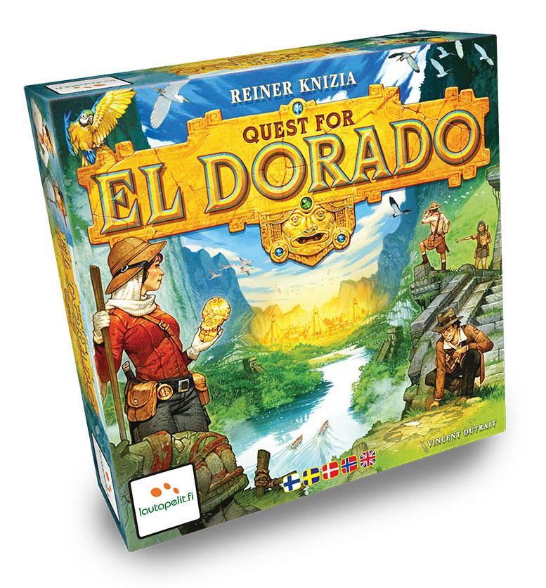 Quest for El Doradon kansi