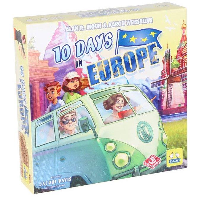 10 Days in Europen kansi